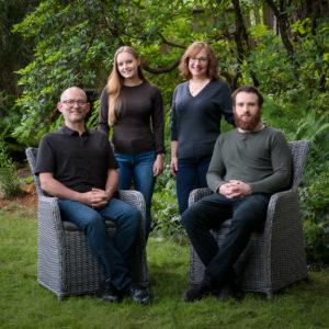 Underhill Family Portrait
